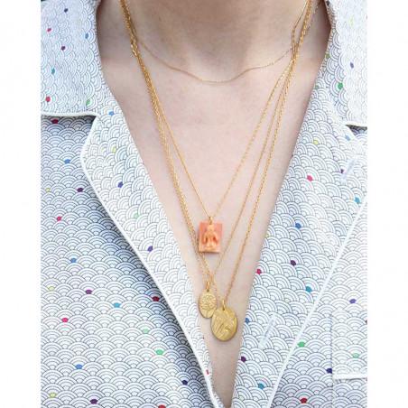 Pico Halskæde, Bloomy, Guld på model