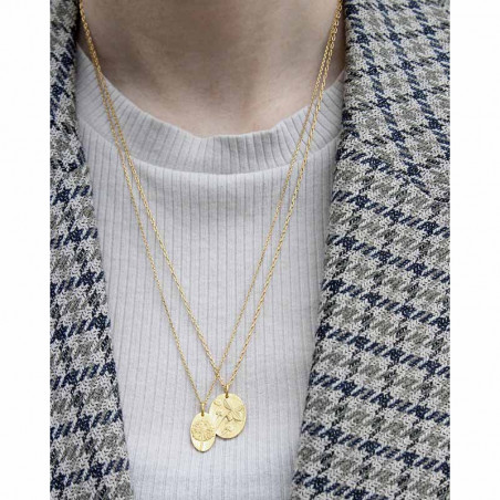 Pico Halskæde, Bloomy, Guld - Bliss halskæde