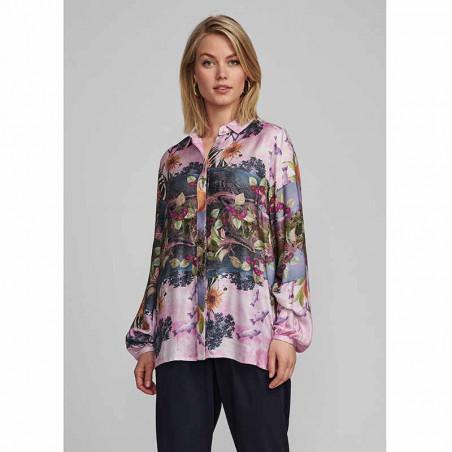 Nümph Skjorte, Nubayleah, Lilac Sac numph skjorte på model