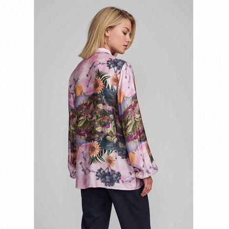 Nümph Skjorte, Nubayleah, Lilac Sac numph skjorte model bagside