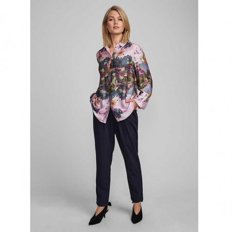 Nümph Skjorte, Nubayleah, Lilac Sac numph skjorte look