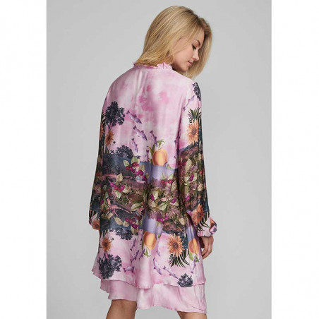 Nümph Kjole, Nubayleah, Lilac Sac numph kjole på model bagside
