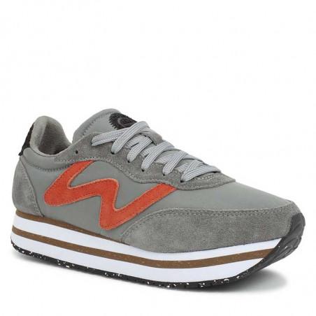 Woden Sneakers, Olivia Pleateau II, Autumn Grey, Woden sko, Woden - Fra siden
