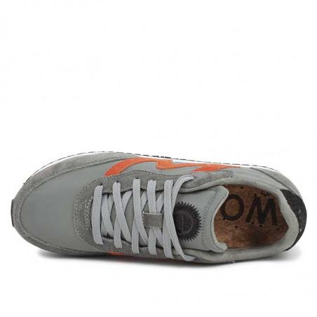 Woden Sneakers, Olivia Pleateau II, Autumn Grey, Woden sko, Woden - Oppe fra