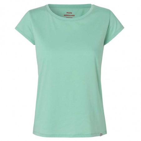 Mads Nørgaard T Shirt dame, Teasy, light green mads nørgaard t-shirt dame organic favorite