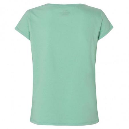 Mads Nørgaard teasy dame T Shirt,  Light Green ryg
