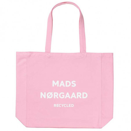 Mads Nørgaard Net, Athene Recycled, Pink/White, mulepose, Mads Nørgaard net, mulepose med tryk