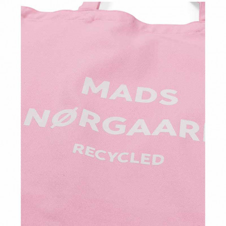 Mads Nørgaard Net, Athene Recycled, Pink/White, mulepose, Mads Nørgaard net, mulepose med tryk - Detalje