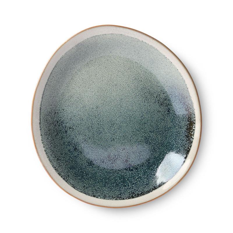 Hk living tallerkener, ceramic 70's sæt af 2, mist fra hk living på superlove
