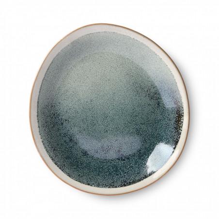 HK Living Tallerken, Ceramic 70's Sæt af 2, Mist HK Living Tallerkener top