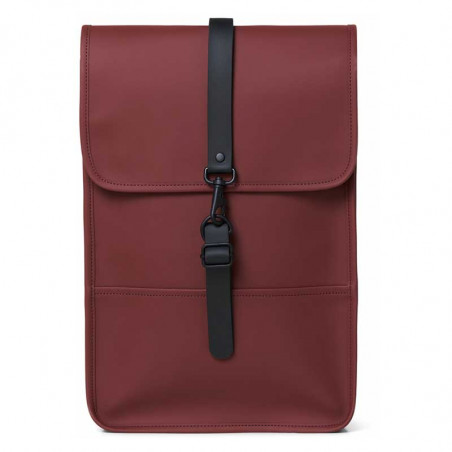 Rains Rygsæk, Backpack Mini, Maroon Vandtæt taske fra Rains - Mini Backpack
