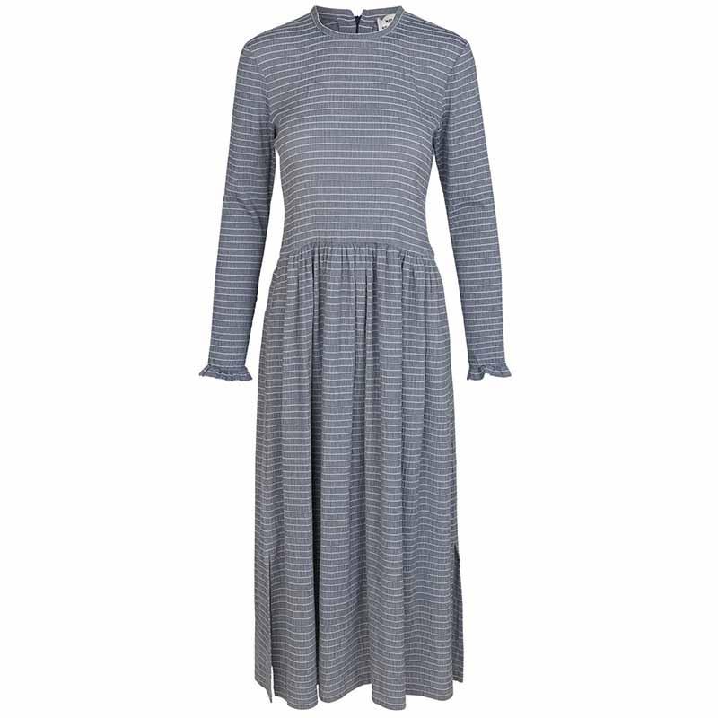 mads nørgaard – Mads nørgaard kjole, flexi pop docca, navy/white på superlove