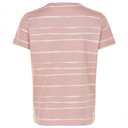 Nümph T-shirt, Nubryce, Pale Mauve Numph T-shirt med print bagside