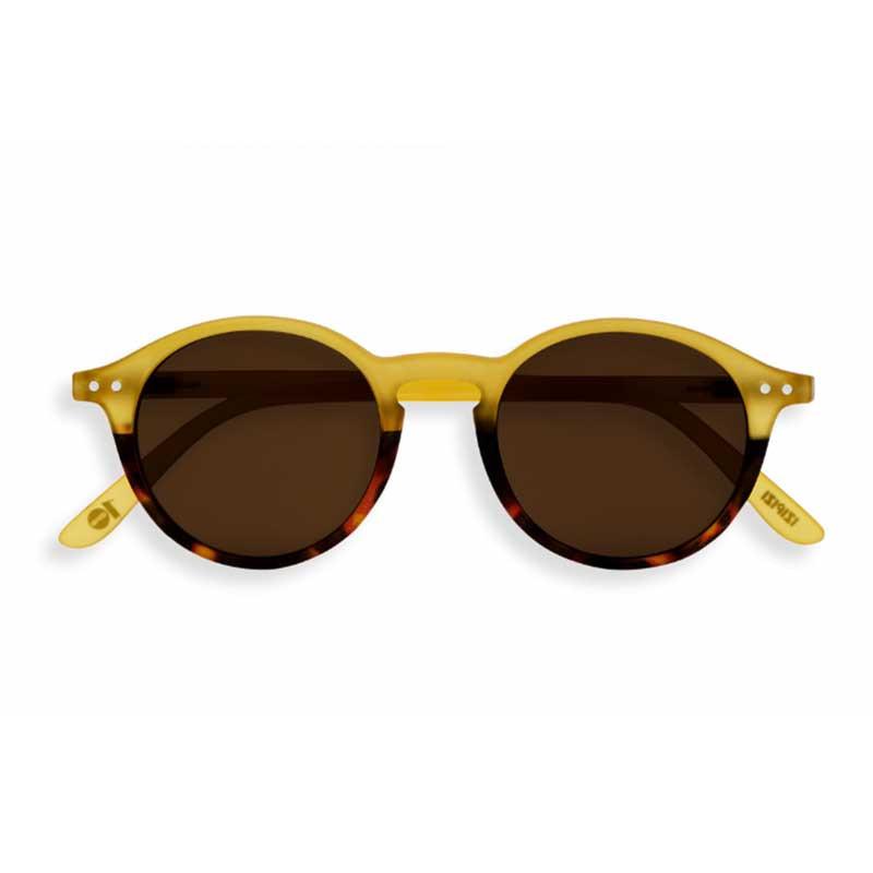 Izipizi solbriller, d sun, yellow/tortoise fra izipizi på superlove