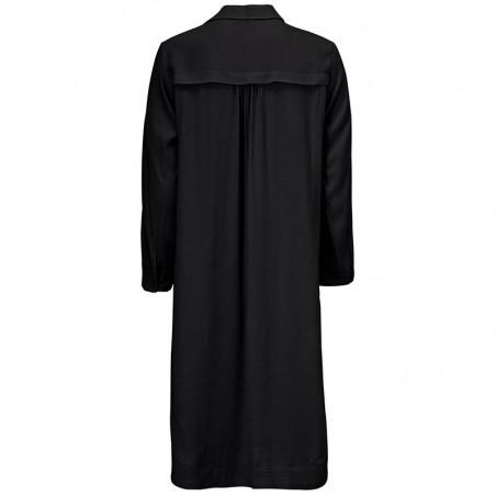 Modström Kjole, Esther Shirt, Black modstrøm kjole bagside