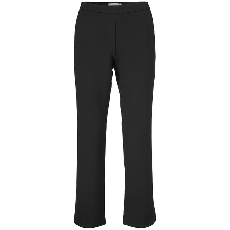 Modström Bukser, Tanny Cropped, Black modstrøm bukser