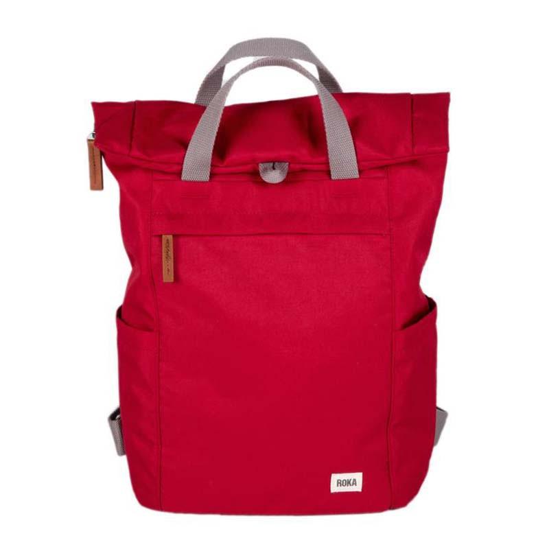 Roka Rygsæk, Finchley A Sustainable Medium, Volcanic Red, vandtæt rygsæk, rygsæk dame, rygsæk mænd, computer rygsæk