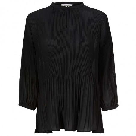 Modström Bluse, Eva, Black Modstrøm tøj, bluser til kvinder