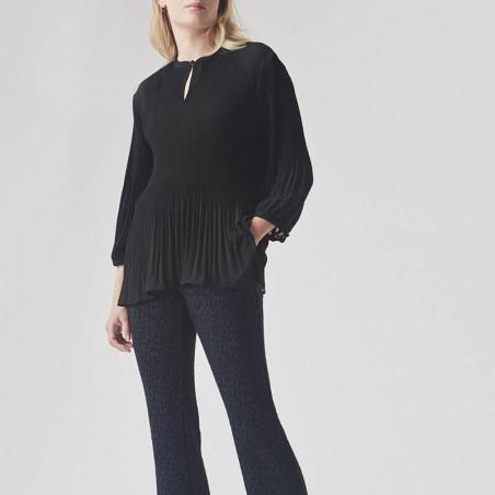 Modström Bluse, Eva, Black Modstrøm tøj, bluser til kvinder model