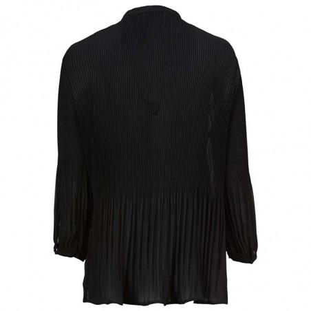 Modström Bluse, Eva, Black Modstrøm tøj, bluser til kvinder bagside