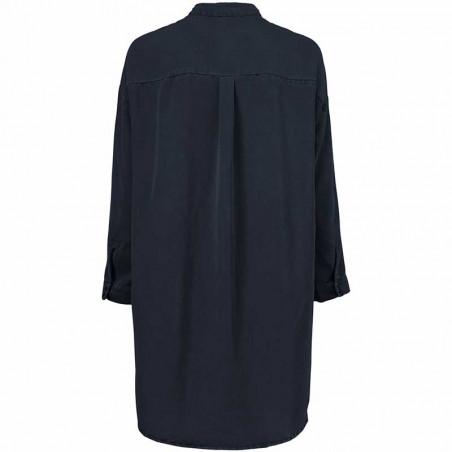 Modström Kjole, Evelyn, Navy Sky modstrøm tøj modstrøm kjole bagside