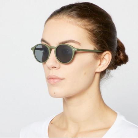 Izipizi Solbriller, D Sun, Kaki Green model