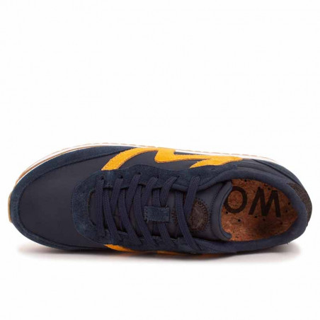 Woden Sneakers, Olivia II Plateau, Navy/Autumn Blaze top