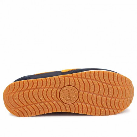 Woden Sneakers, Olivia II Plateau, Navy/Autumn Blaze sål