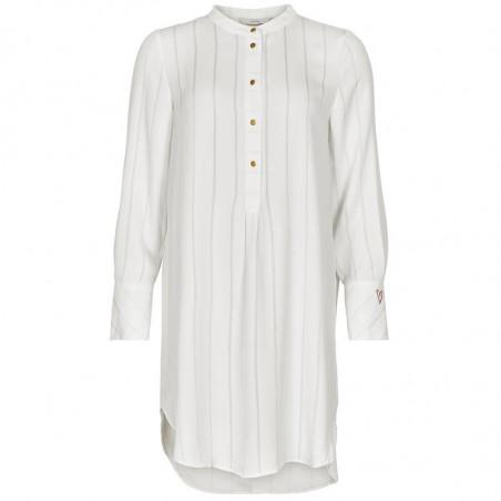 Nümph Kjole, Nubahira, B. White numph kjole Nümph tøj