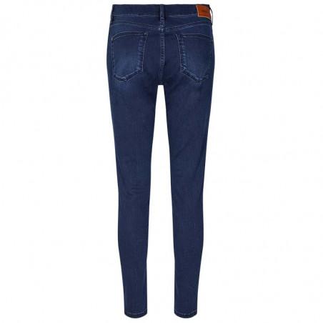 Mos Mosh Jeans, Alli Core, Blue Denim Mos Mosh bukser bagside