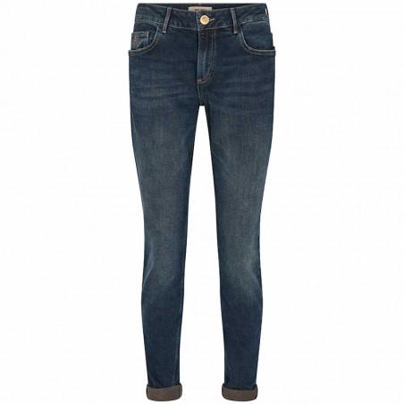 Mos Mosh Jeans, Bradford Heritage, Blue Regular Mos Mosh bukser