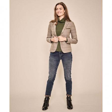 Mos Mosh Jeans, Bradford Heritage, Blue Regular Mos Mosh bukser model