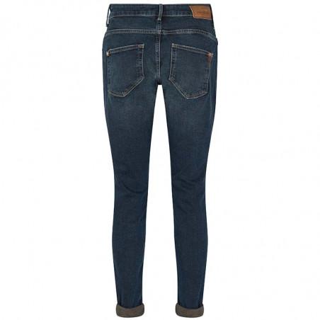 Mos Mosh Jeans, Bradford Heritage, Blue Regular Mos Mosh bukser bagside