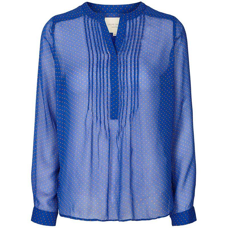 Lollys Laundry Skjorte, Helena, Blue