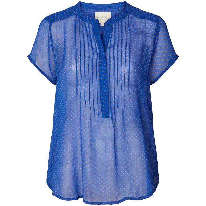 Lollys Laundry Bluse, Heather, Blue Lollys Laundry top