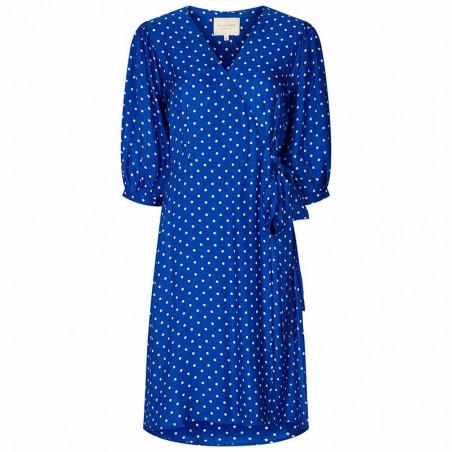 Lollys Laundry Kjole, April, Neon Blue
