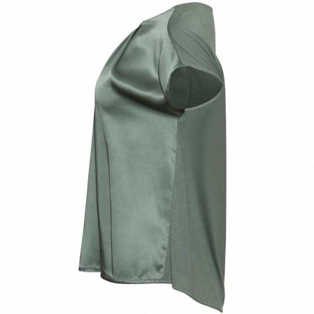 PBO Bluse, Wee, Laurel Green pbo top pbo tøj side