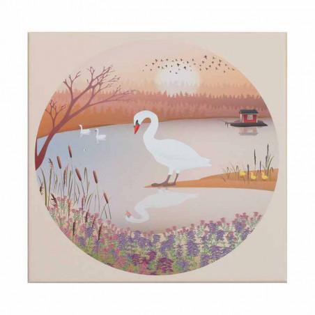 Vissevasse Puslespil 1000 brk, The Swan