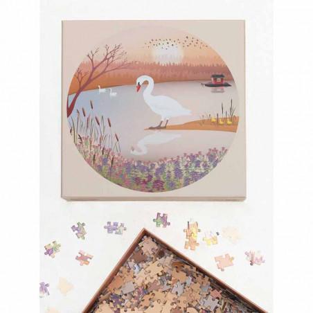 Vissevasse Puslespil 1000 brk, The Swan Puslespil fra Vissevasse