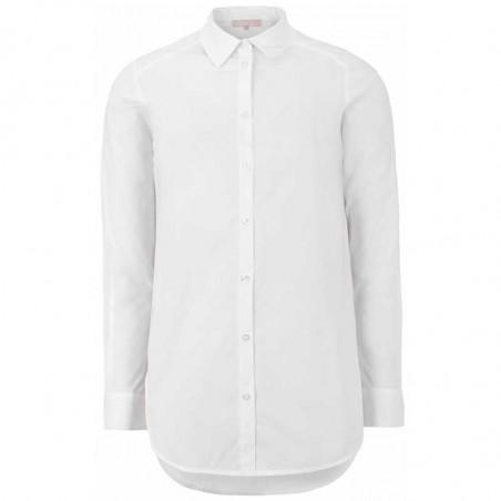 Soft Rebels Skjorte, Beatrice LS, Snow White-Off White, hvid skjorte, skjorte dame