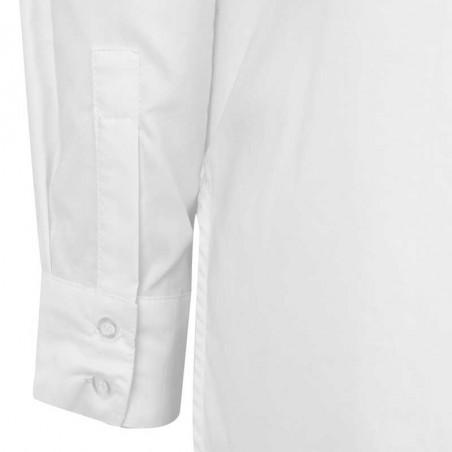 Soft Rebels Skjorte, Beatrice LS, Snow White-Off White, hvid skjorte, skjorte dame - Detalje