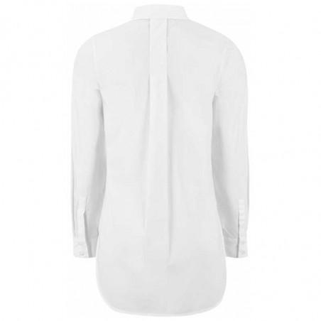 Soft Rebels Skjorte, Beatrice LS, Snow White-Off White, hvid skjorte, skjorte dame - Bagside