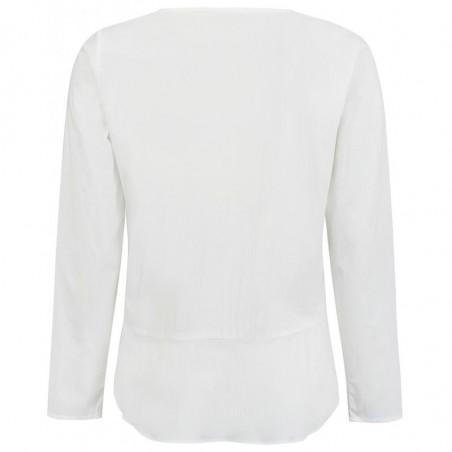 Soft Rebels Skjorte, Aimee, Snow White - Off White - skjorter dame - Bagside