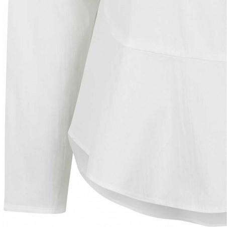 Soft Rebels Skjorte, Aimee, Snow White - Off White - skjorter dame - Detalje