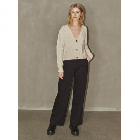 Soft Rebels Bukser, Sheila, Black sheila-pant-black pants Soft Rebels look