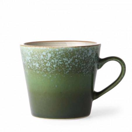 HK Living Krus, Ceramic 70's Cappuccino, Grass - karamik krus