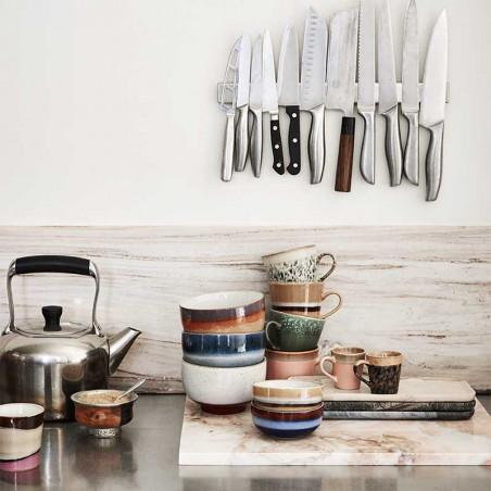 HK Living Krus, Ceramic 70's Cappuccino, Grass - Hk living 70th keramik