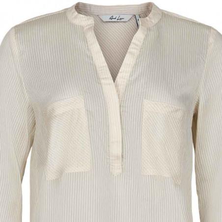 And Less Skjortebluse, Alace skjorte, Birch, skjortebluse, detalje