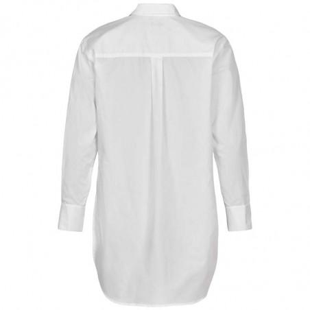 And Less Skjortebluse, Alcaile, Bril. White, Skjorter Dame - Bagside