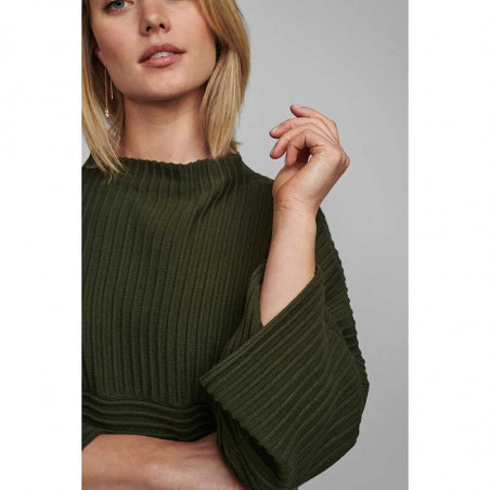 Nümph Strik, Nuirmelin O-Neck, Deep Depht . Nümph tøj, Numph, sweater